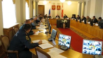 В Смоленске прошло заседание чрезвычайной комиссии