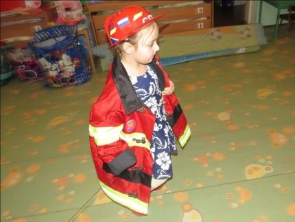 Пожарные старты в детском саду (22.01.2017)