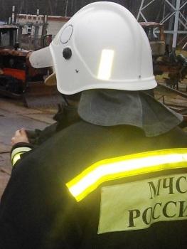 Добровольная пожарная дружина помогла ликвидировать огонь