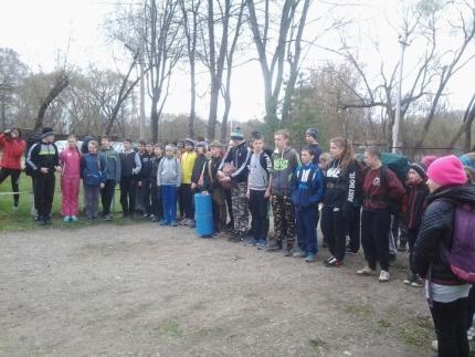В Смоленске стартовали соревнования «Юный спасатель»