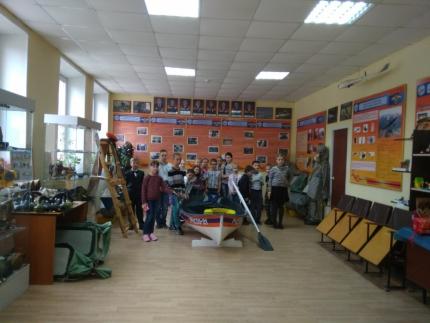 (25.05.19) Центр противопожарной пропаганды продолжает принимать гостей