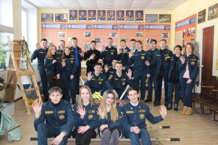 Студенты СмолАПО в Центре противопожарной пропаганды