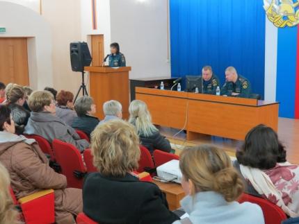 (24.09.19) Учебно-методический сбор с руководителями объектов здравоохранения, образования и социальной сферы