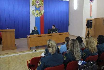 (13.12.18) В Главном управлении МЧС России по Смоленской области состоялось заседание женского совета