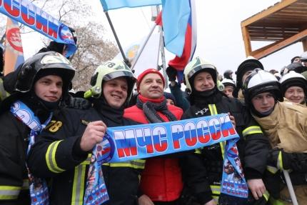 Стартовал Всероссийский пожарно-спасательный флешмоб (12.02.2017)