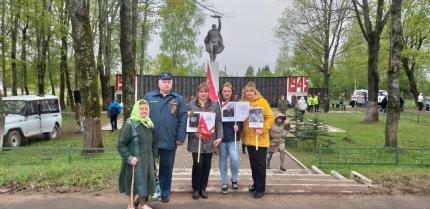 (10.05.19) Глинковские огнеборцы приняли участие в мероприятиях, посвященных Дню Победы