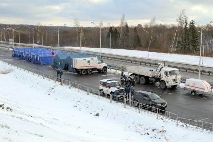 Главное управление МЧС России по Смоленской области следит за ситуацией на дорогах