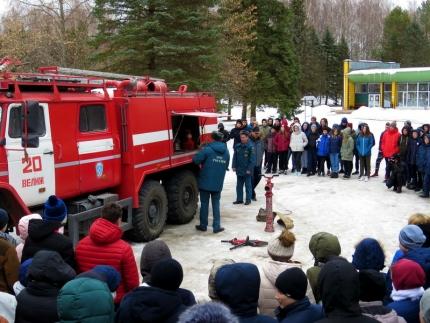 Юнармейцам о пожарной безопасности (02.04.2018)