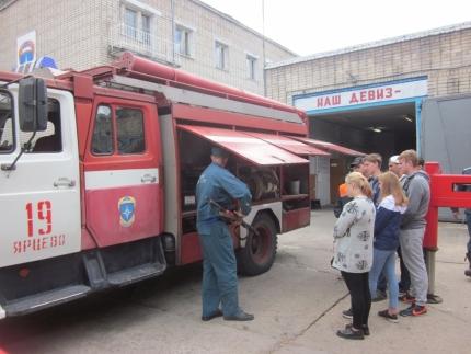 О профессии пожарного-спасателя из первых уст