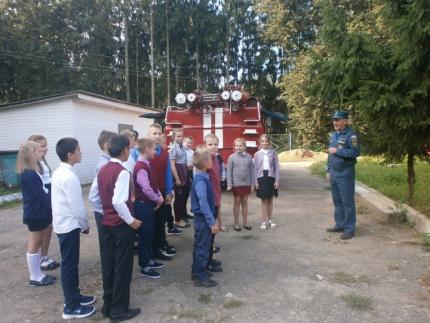 (11.09.19) День открытых дверей в 34 пожарно-спасательной части поселка Монастырщина