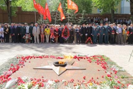 (08.05.2018) В Смоленске состоялся торжественный митинг, посвященный Дню Великой Победы