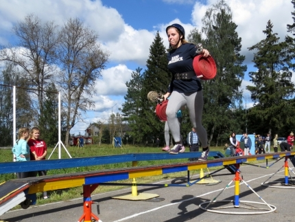 В Смоленске прошли соревнования «Дружин юных пожарных» на кубок ВДПО