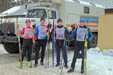 Смоленские сотрудники МЧС России приняли участие в лыжной гонке «Лыжня России – 2018»