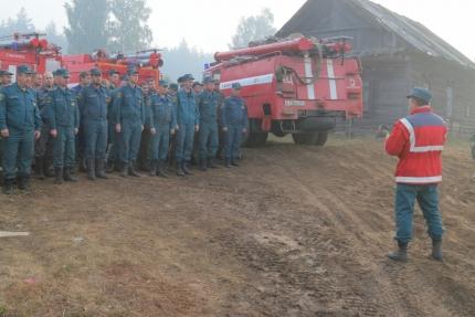 Оперативные группы продолжают осуществлять контроль за пожарной обстановкой Смоленской области