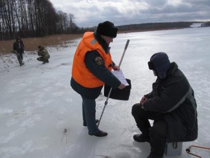 (11.03.19) Инспекторы ГИМС следят за безопасностью на водоемах