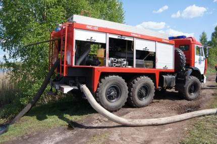 Тульские спасатели продолжают выполнять задачи на смоленской земле (22.05.2017)