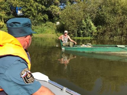 (01.09.19) Водные просторы под контролем инспекторов государственной инспекции по маломерным судам