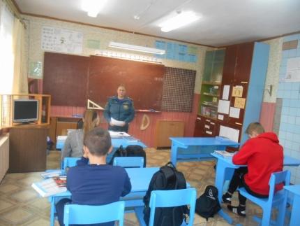 (08.10.2018) Мероприятия со школьниками в рамках «Месячника Гражданской обороны»