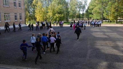 Учебная эвакуация в Угранской средней школе