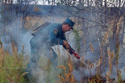 Предупреждение природных пожаров