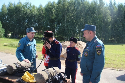 (11.08.2018) Открытие IV ежегодного Российско-белорусского слета казачьей молодежи