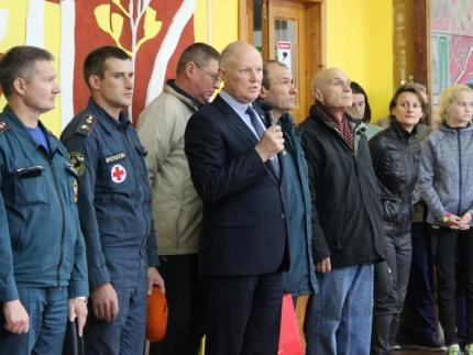 (01.10.2018) В Смоленске прошли областные соревнования «Школы безопасности»