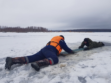 (12.02.19) Масштабные тактико-специальные учения по обеспечению безопасности людей на водных объектах