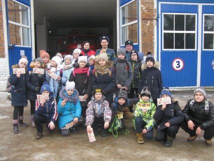 (20.02.19) День открытых дверей в 52 пожарно-спасательной части города Ярцево