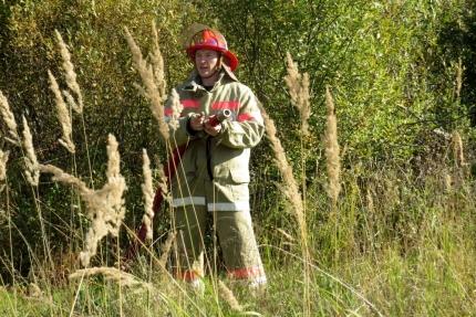 (15.05.2018)Работа подразделений добровольной пожарной охраны на территории Смоленской области