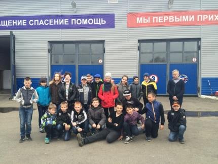 «Урок мужества» для школьников города Десногорска