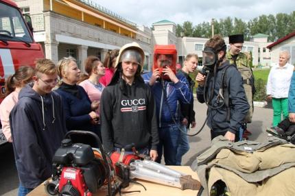 (17.08.2019) Открытие V ежегодного Российско-белорусского слета казачьей молодежи