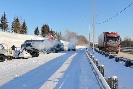 Продолжается мониторинг дорожной обстановки (13.01.2017)
