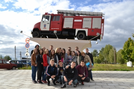 Старшеклассникам Десногорска о профессии пожарного-спасателя