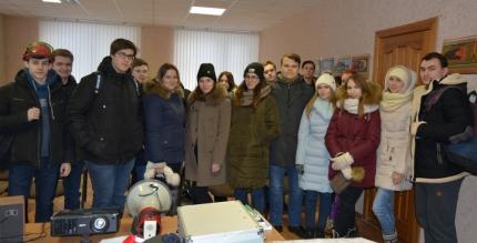 Лесопожарная служба Смоленской области информирует: В гости к лесным пожарным пришли будущие экологи