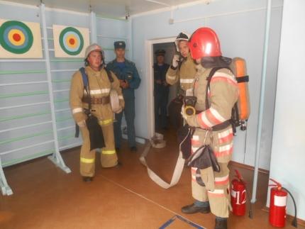 Пожарно-тактические учения в детском саду «Теремок».