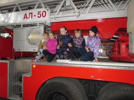 Познавательная экскурсия в 7 пожарно-спасательную часть
