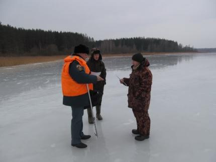 (19.03.19) Инспекторы ГИМС предупреждают рыбаков о весенних рисках