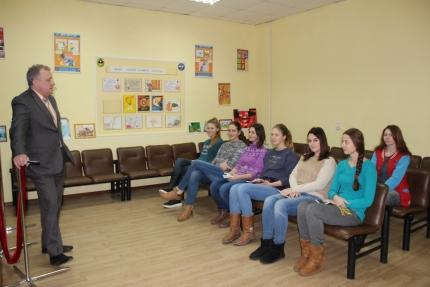 В рамках практического занятия студенты медицинского колледжа посетили Центр противопожарной пропаганды
