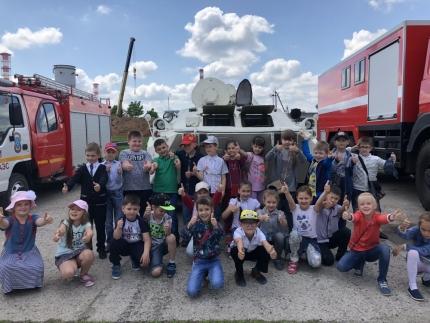 (29.05.2018) О пожарной охране из первых уст