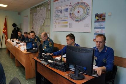 Подведены итоги первого этапа всероссийского командно-штабного учения (20.04.2017)