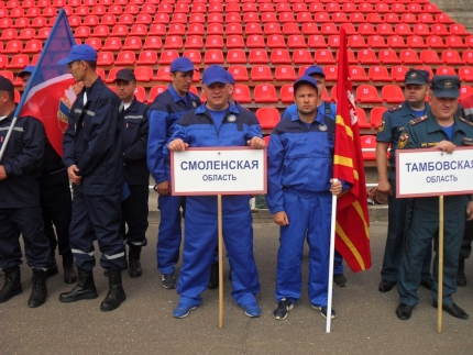 (13.06.2018) Работа подразделений добровольной пожарной охраны на территории Смоленской области