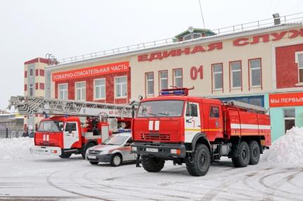 (24.10.19) Лучшая пожарно-спасательная часть в Смоленской области