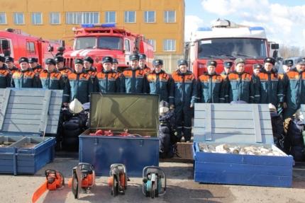 Смоленская область принимает участие в совместной штабной тренировке по ликвидации ЧС, вызванных природными пожарами