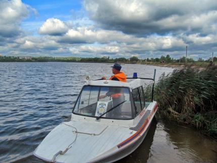 (05.10.19) Инспекторы ГИМС настоятельно рекомендуют рыбакам соблюдать правила безопасности на водоеме