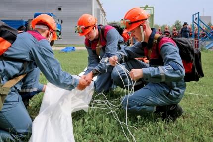Нештатная спасательная группа Смоленской АЭС подтвердила высокий уровень подготовки