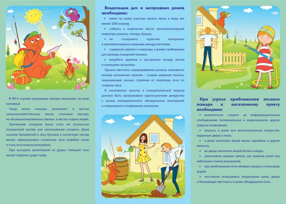 Памятка о мерах предосторожности и правилах поведения в случае ЧС
