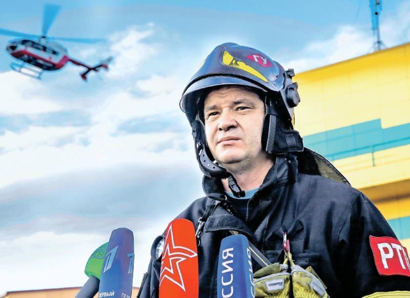 О работе московского пожарно-спасательного гарнизона