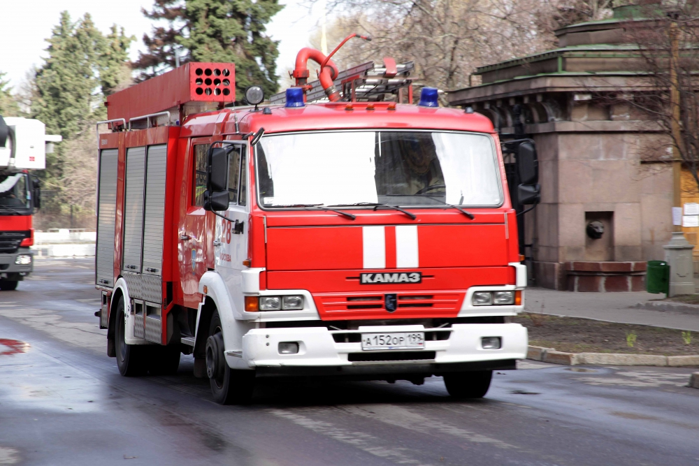 Уточнение о пожаре в ТиНАО