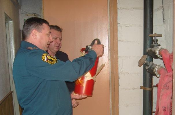 Информация о проведении проверок органами государственного пожарного надзора
