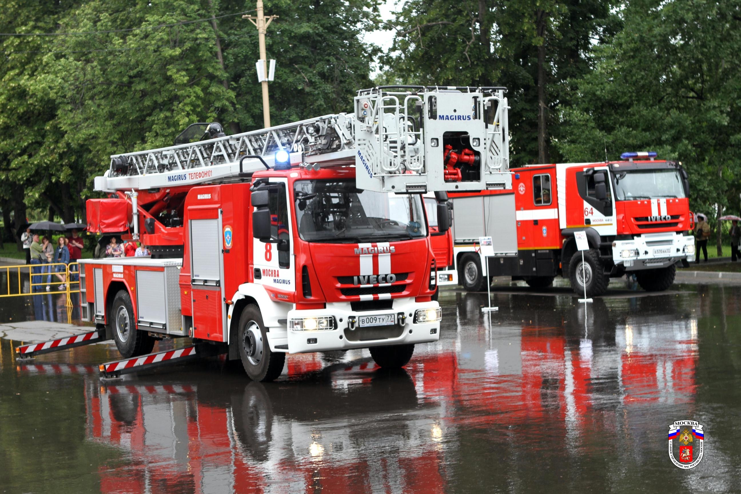 Пожарные в россии и за границей
